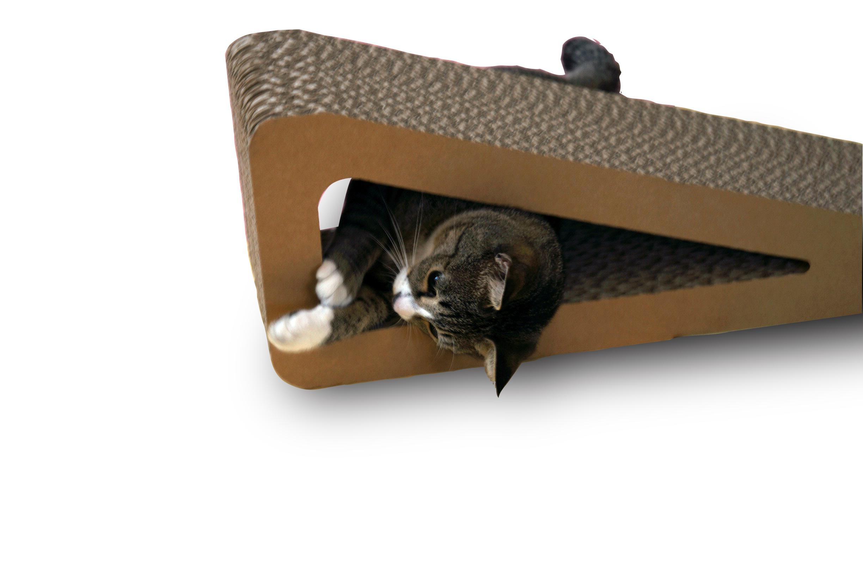 猫の爪とぎ・トライアングルボード