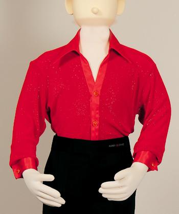 ジュニアシャツカラー ラテンコスチューム