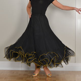 ダンスファッション スカート