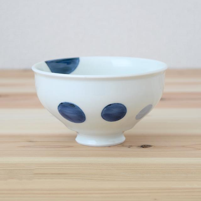 波佐見焼 康創窯 お茶碗 飯碗 ごはん茶碗 まる碗 和食器 セレクトショップ Danlife 水玉