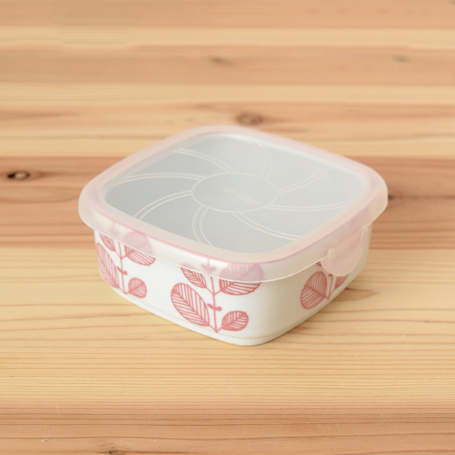 波佐見焼 器 食器 団陶器 ミント 北欧 角パック パック 保存容器 便利 残り物