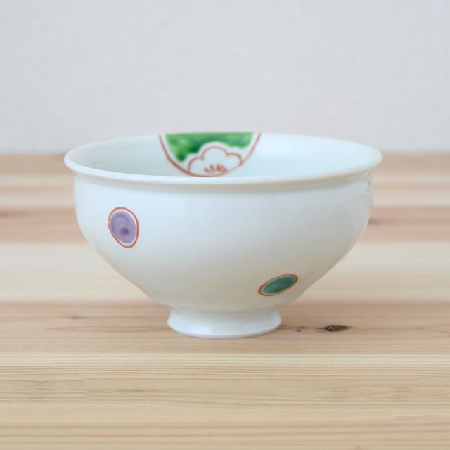 波佐見焼 康創窯 お茶碗 飯碗 ごはん茶碗 まる碗 和食器 セレクトショップ Danlife 丸紋 和風
