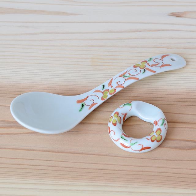 波佐見焼 康創窯 スプーン レスト 箸置 レンゲ まる碗 和食器 セレクトショップ Danlife