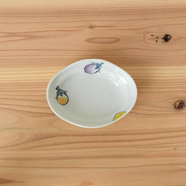 波佐見焼 団陶器 和食器 器 なす 小鉢 マグカップ 長角皿 皿 かわいい 縁起物 ギフト