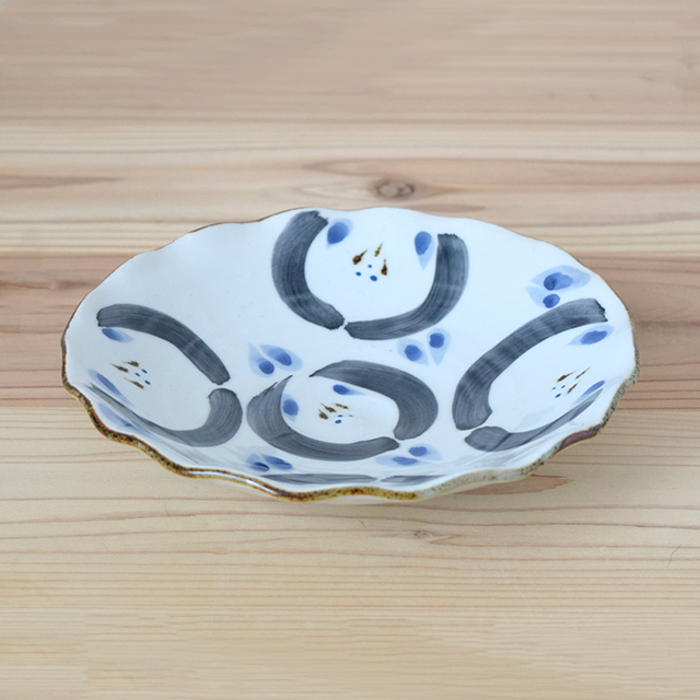 はさみ焼 波佐見焼 団陶器 和食器 器 マグカップ 花まる 鉢 ボウル 皿 長角 角