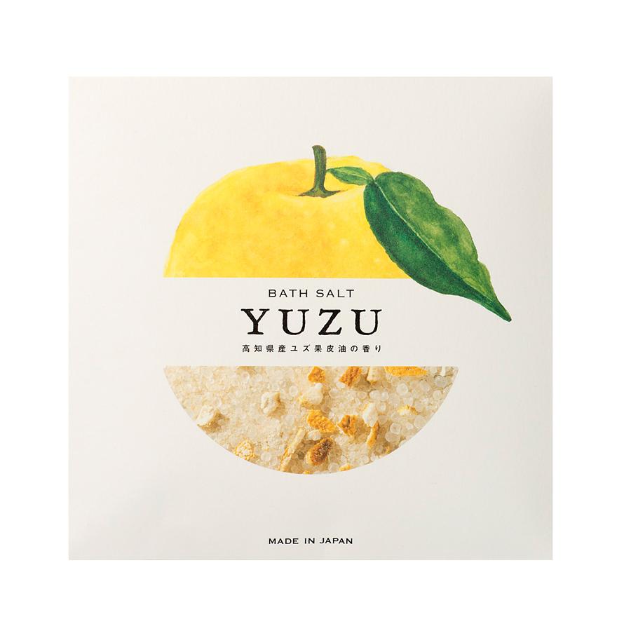 高知県産YUZU ピール入りバスソルト 40g