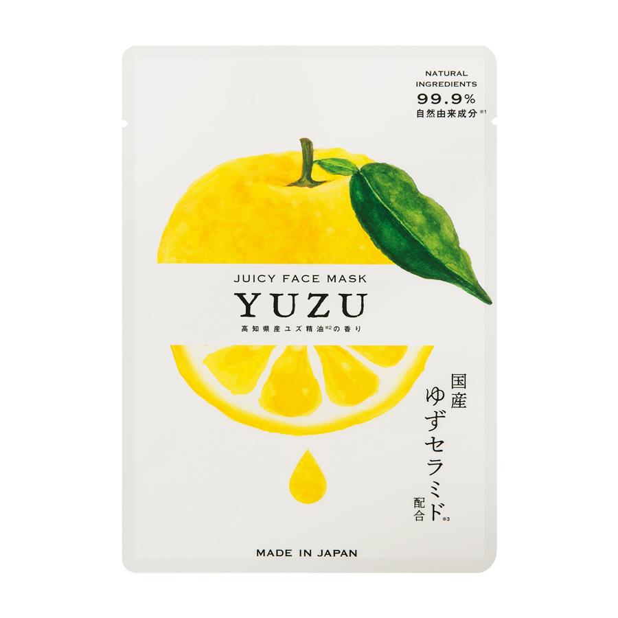 高知県産YUZU ジューシーフェイスマスク
