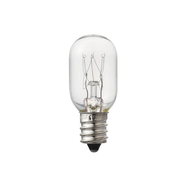 アロマコンセントライト用交換電球 15W(クリア)