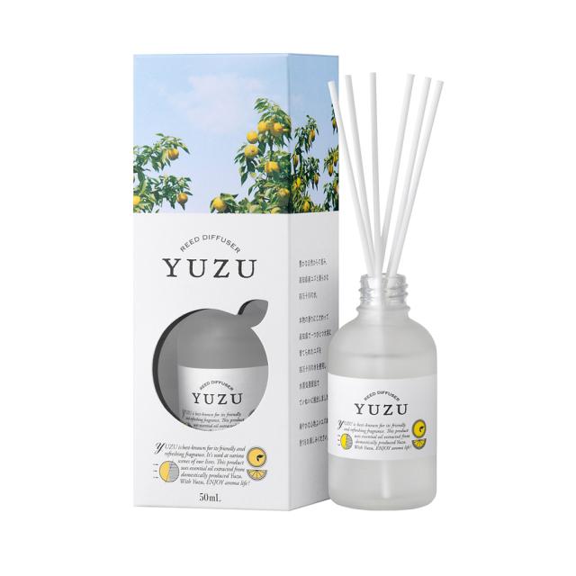 高知県産YUZU 消臭リードディフューザー50mL