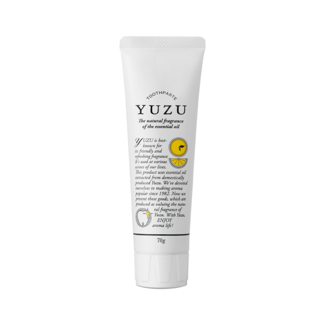 高知県産YUZU 歯磨き粉