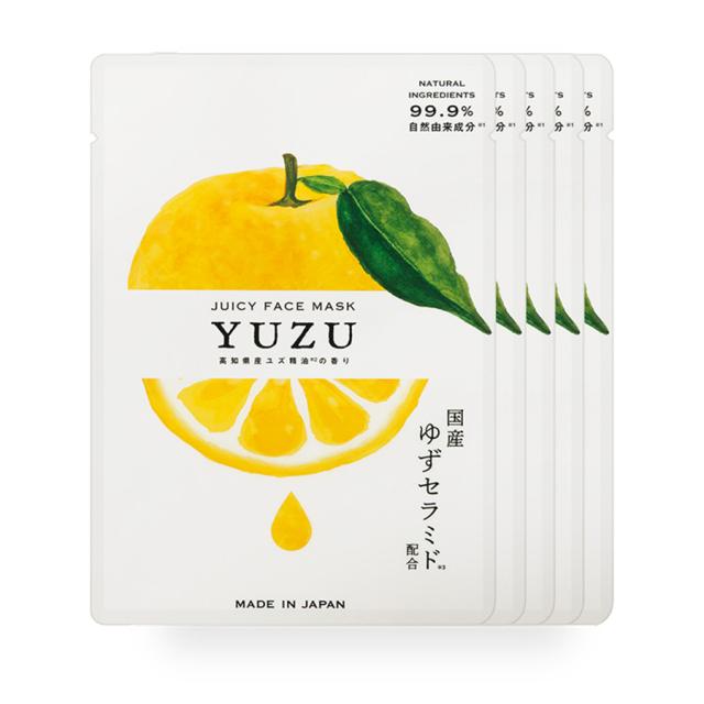 高知県産YUZUジューシーフェイスマスク