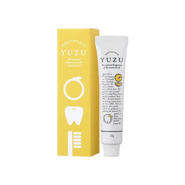 高知県産YUZU 歯磨き粉 ミニ 17g