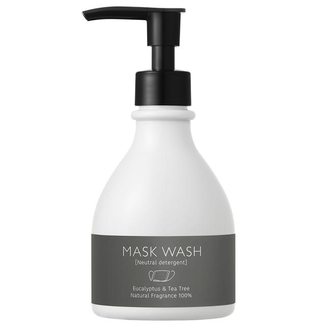 MASK WASH BLACK 250mL [白くまマスク マスクウォッシュ限定パッケージ]