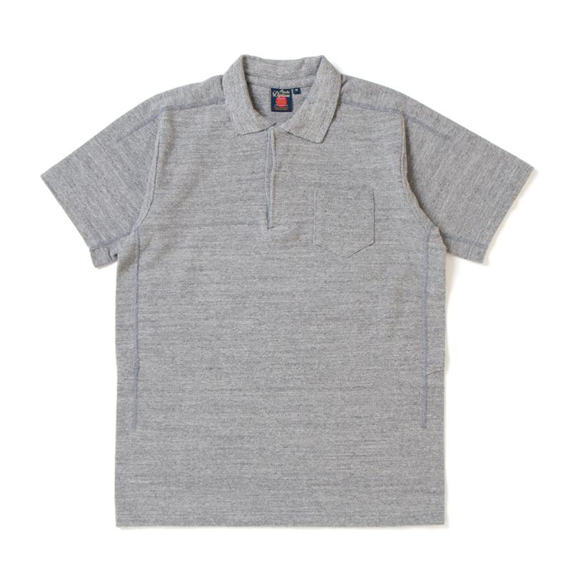吊り編み鹿の子ポロシャツ【8000】