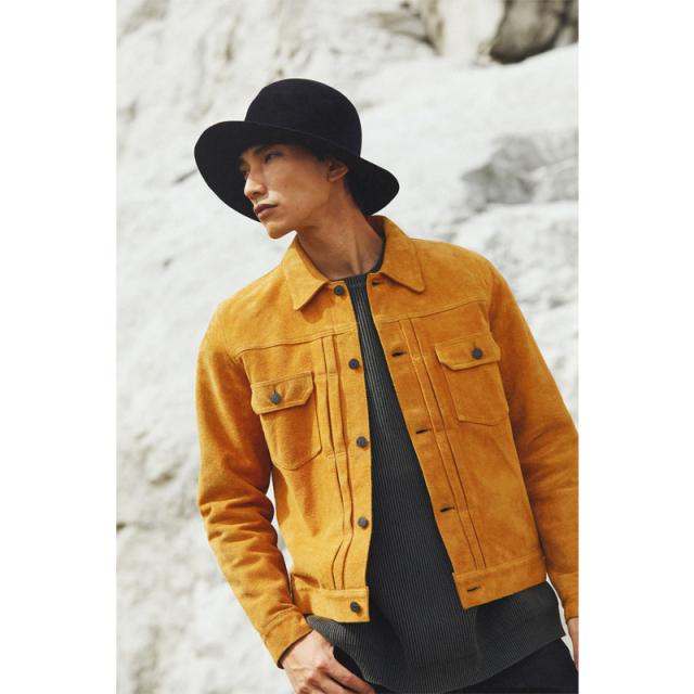 スウェードセカンドジャケット【4437】