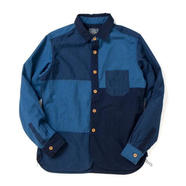 TUGIHAGIインディゴシャツ【5638】