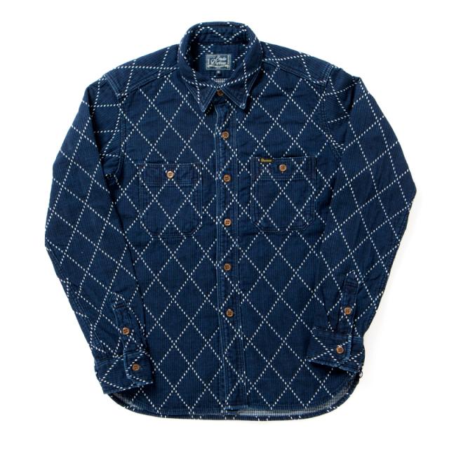 USEDインディゴドビーシャツ【5649U】