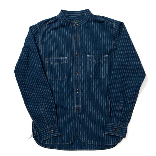 ウォバッシュバンドカラーシャツ【5650】