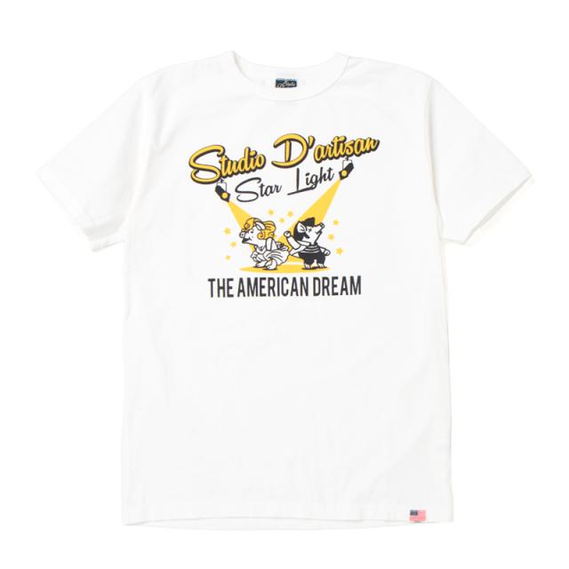 USAコットンプリントTシャツ【8005A】