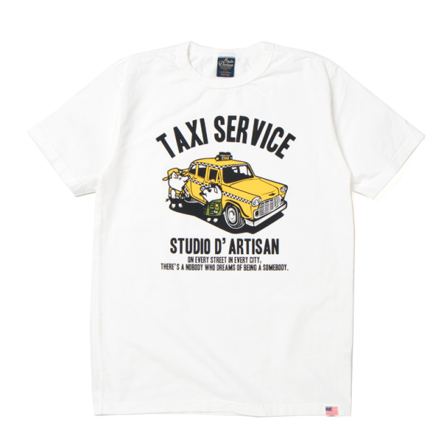 USAコットンプリントTシャツ【8007B】