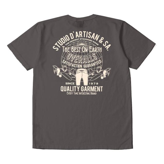 USAコットンプリントTシャツ【8029B】