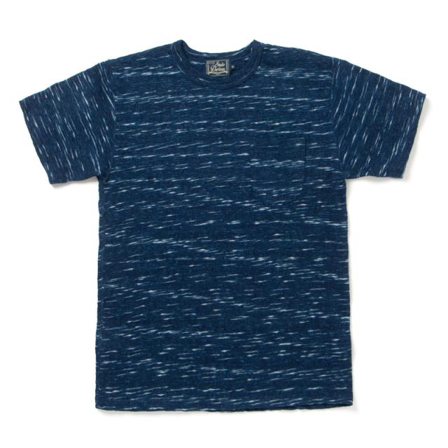 KASURI インディゴTシャツ 【8034】