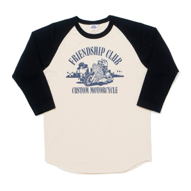 ラグラン7分袖Tシャツ【8035B】