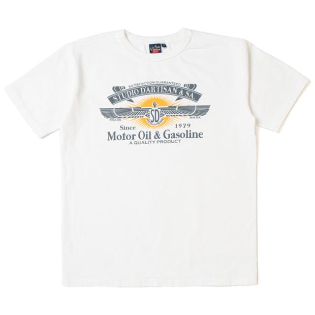 吊り編みプリントTシャツ【9992A】