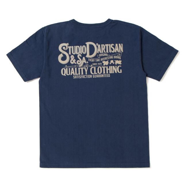 吊り編みプリントTシャツ【9993A】