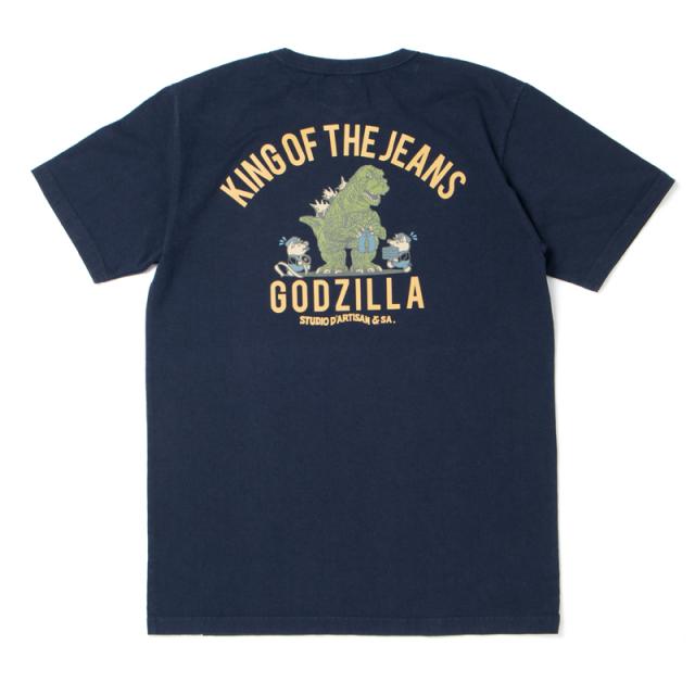 ゴジラコラボTシャツ 【GZ-010B】