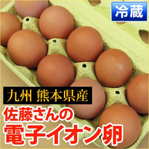 佐藤さんの「電子イオン卵10個入り」