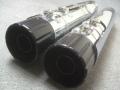 【極上】ハーレー純正 17-18年 CVO ツーリングモデル 北米仕様ブラックビレットエンドマフラー