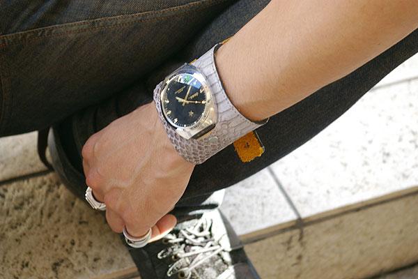 ハリウッドスターも愛用するLAブランド★deanの腕時計(mw04)