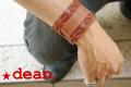 ハリウッドスターも愛用するLAブランド★deanのレザーカフス(mw03_mens_cuffs)