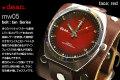 ハリウッドスターも愛用するLAブランド★deanの腕時計(mw05_tan)