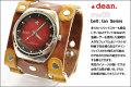 ハリウッドスターも愛用するLAブランド★deanの腕時計(★dean_mw09-tan)