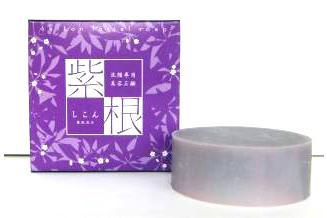 【紫根石鹸】100g