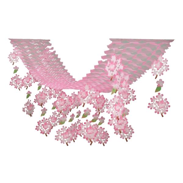 【春・デコレーション】桜小枝プリーツハンガー