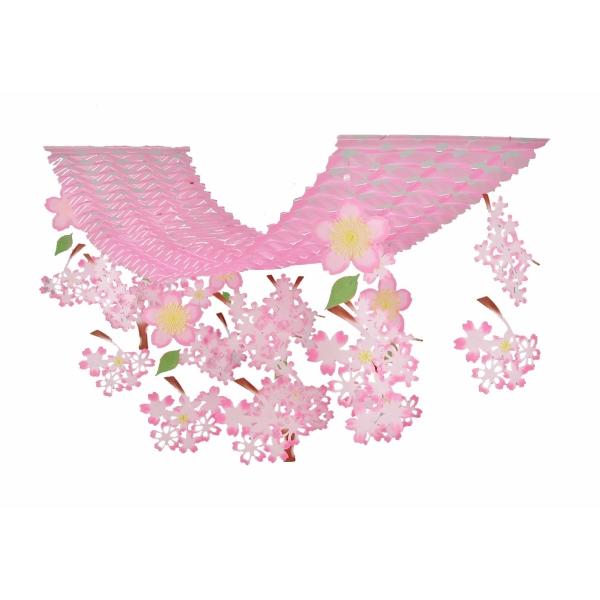【春・デコレーション】桜スウィート プリーツハンガー