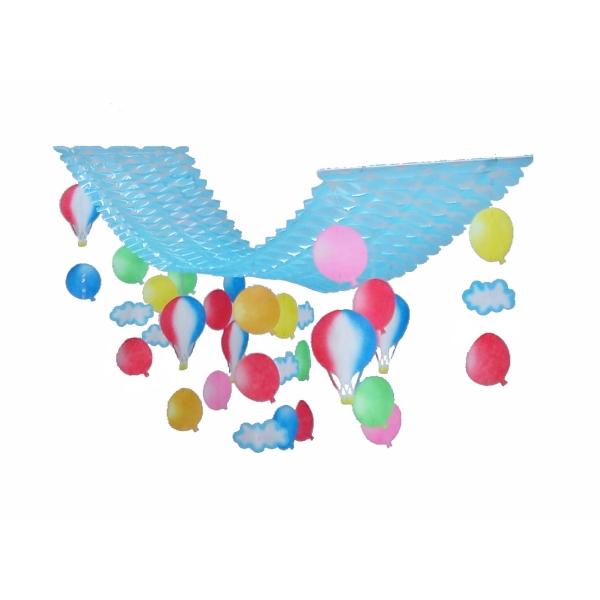 風船 気球 プリーツハンガー(2100345)[春 飾り 販促グッズ 店内装飾 プリーツハンガー]