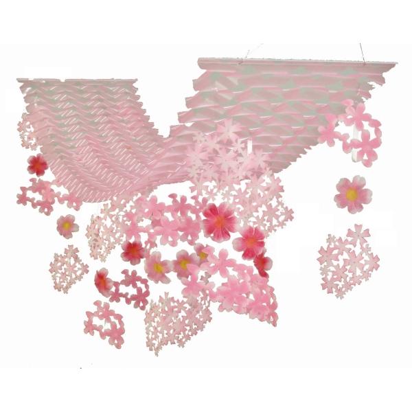 【春・デコレーション】大桜プリーツハンガー