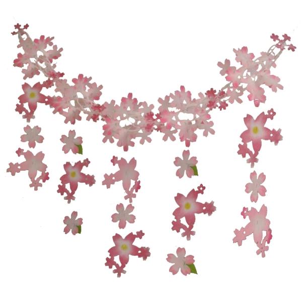 ミックスチェリーガーランド(2134054)[春 花 飾り 販促グッズ 店内装飾 ガーランド]