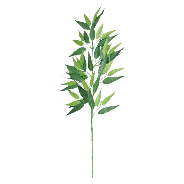 【七夕・笹・竹】バンブー(笹の造花)スプレイ(ツートングリーン)(476)[七夕 笹 造花 フェイクグリーン 竹 バンブー 人工観葉植物]