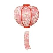 桜ボンボリ 丸型(2114027)[春 花見 桜 飾り 販促グッズ 店内装飾 ボンボリ]