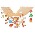 ニュー秋の行楽プリーツハンガー(4126032)[秋 行楽 飾り 販促グッズ 店内装飾 プリーツハンガー]