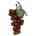 【食品サンプル・フルーツ・野菜】ブドウの房 バーガンディ