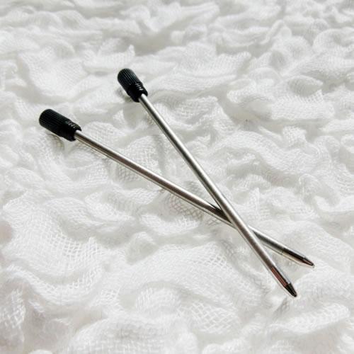 クリスタルボールペン 替芯 ブラック