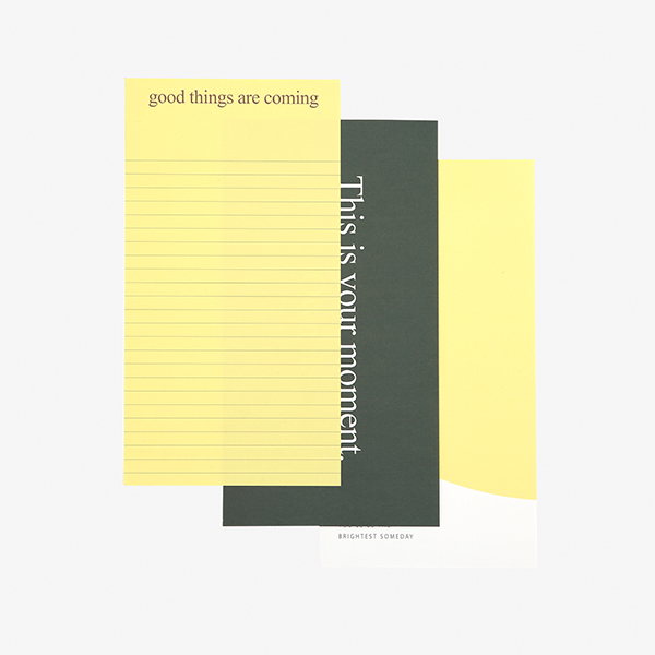レターセット Message Letter - 03 Good things 【グリーティング】【ラッピング】【メール便対応】