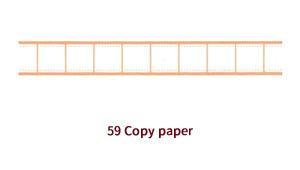 マスキングテープ 59 copy paper