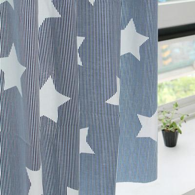 生地・布 ≪Navy star ≫  コットン/幅110cm デコレクションズオリジナル生地・布 【10cm単位販売】